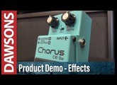 BOSS CE-2W Waza Craft Chorus Review