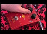 Chandler Limited LITTLE DEVIL Colored Boost guitar effects pedal demo