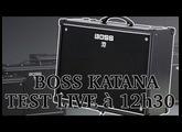 BOSS KATANA - TEST EN LIVE