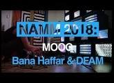 Bana Haffar performs live with Moog DFAM and explains her modular set-up