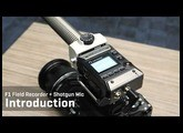 F1 Field Recorder + Shotgun Mic Introduction
