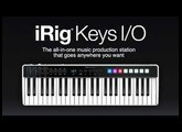 Building a song in GarageBand with iRig Keys I/O and included software