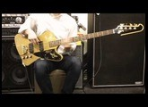 Gibson USA / 50th Anniversary Thunderbird Bass Bullion Gold 【デモ動画】【イシバシ楽器渋谷店】