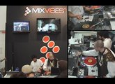 Musikmesse 2009 - R-Ash and M-Rode playing on MixVibes