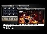Addictive Drums 2 ADpak Overview: Metal