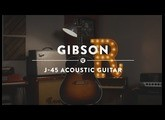 Gibson J-45 Acoustic Guitar | Reverb Demo Video