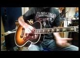 Gibson Custom Shop J200-m Quilt