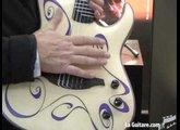 musikmesse 2009 - lag guitars - Keziah Jones signature