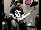 Poker Face guitarist Ryan Baller at Best Buy playing the Gibson RAW POWER