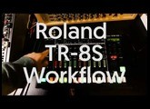 Roland Aira TR-8S Sampler quick workflow with custom sample Demo