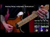 Keeley Super Mod Workstation - every effect
