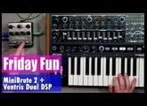 Friday Fun: Arturia MiniBrute and Ventris Dual Reverb