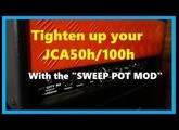Sweep pot mod : Tighten up your Jet City JCA50h / JCA100h for High gain - A must do !