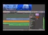 FCPX enregistrer et mixer une voix-off