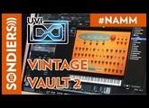 [NAMM 2018] UVI VINTAGE VAULT 2 - Le plugin de synthés vintage