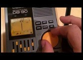 Quick tutorial on the BOSS Dr. Beat DB-90 Metronome