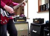 Marshall 3005 Lead 12 & '69 Gibson SG junior