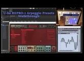 U-he REPRO-1 Part 4. Arpeggios Presets Walkthrough with NKS