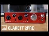 Focusrite Clarett 2Pre TEST