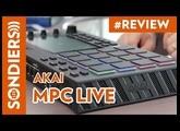 AKAI MPC LIVE - PUISSANTE MAIS FRUSTRANTE (Firmware 2.0.3)