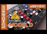 BEHRINGER MODEL D - Synthétiseur analogique semi modulaire monophonique test et démo