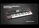Behringer Deepmind 6 - Quick Demo