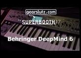 Behringer Deepmind 6 audio @ SB17