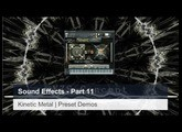 Kinetic Metal Sound Effects Part  11