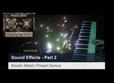 Kinetic Metal Sound Effects Part  2