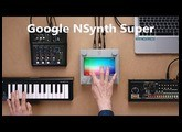 HOT NEWS !!! Google's NSynth Super is a touchscreen synthesizer w/ AI to create new sounds