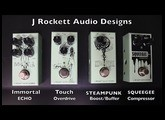 J. Rockett Audio Jet Series-Limited Run Anniversary Pedals Demo Video by Shawn Tubbs
