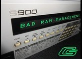 Akai S900 Sampler: How To Deal With Bad RAM Issues Repair Fix