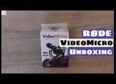 RODE VideoMicro Unboxing  - Microphone For DSLR Cameras