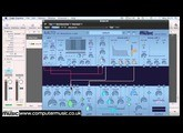 Using Aalto CM's LFO and patcher to create an FX transition
