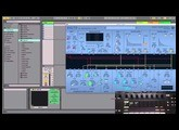 How to browse Madrona Labs Aalto Audio Unit Presets from Ableton Push