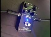 MXR STUDIO COMPRESSOR, demo by RICCARDO GIOGGI [ENG sub]