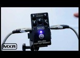 MXR Studio Compressor - tutorial review (Bass Compressor) como usar portugues