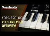 Korg Prologue VCO1 and VCO2 Overview