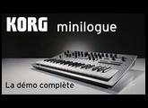 KORG minilogue : la démo complète du nouveau synthé analogique (vidéo de la Boite Noire)