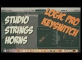 Logic Pro X: Studio Strings Horns contrôle articulations [interrupteurs à touche - Keyswitch]