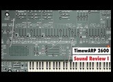 Sound Review Part I: Timewarp 2600 64 Bit Version by Way Out Ware