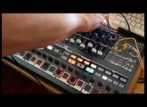 Arturia MiniBrute 2S jam [with Roland TR8 + Elektron Analog 4 back-up]