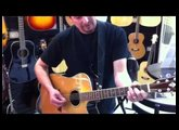 Washburn acoustic with B-Bender