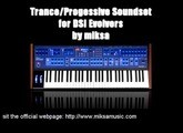 Trance / Progressive Soundset for DSI Evolver (Poly Evolver) Preset Demo