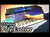 DSI POLY EVOLVER (12 Voices) - Ambient Industrial Noise Music - Dave Smith Instruments 【SYNTH DEMO】