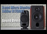 iLoud Micro Monitor vs Edifier R1700BT  ||  Sound Demo w/ Bass Test