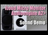 iLoud Micro Monitor vs Audioengine A2+  ||  Sound Demo w/ Bass Test