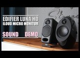 Edifier E25HD Luna Eclipse HD vs iLoud Micro Monitor  ||  Sound Demo w/ Bass Test