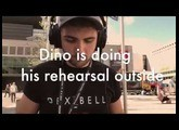 Dino Franchi from Rationale and VIVO S1 digital piano , everywhere with him