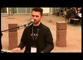 Dino Franchi street performance with VIVO S1 & XMURE at Musikmesse